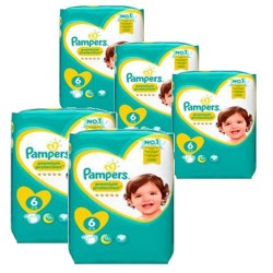 Mega pack 112 Couches Pampers New Baby Premium Protection taille 6 sur Promo Couches