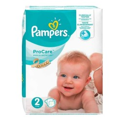 Pack 36 Couches Pampers ProCare Premium protection taille 2 sur Promo Couches