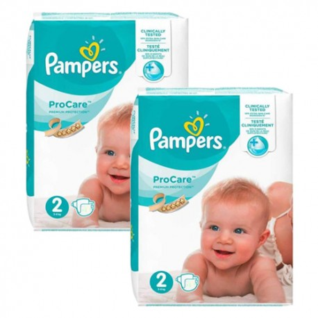 Giga pack 252 Couches Pampers ProCare Premium protection taille 2 sur Promo Couches