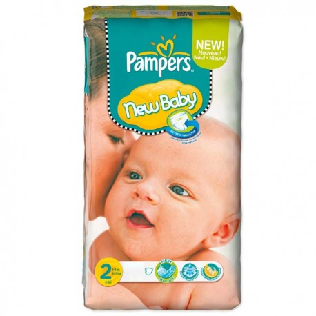 Pack 82 Couches Pampers New Baby Premium Protection sur Promo Couches