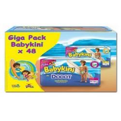 Maxi Pack de 48 Couches de bains Dodot Baby Kini de taille 3