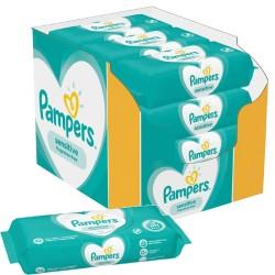 Pack jumeaux 936 Lingettes Bébés Pampers Sensitive