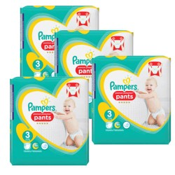 Maxi giga pack 385 Couches Pampers Premium Protection Pants taille 3 sur Promo Couches