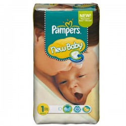 Maxi Giga Pack 172 couches Pampers New Baby Dry