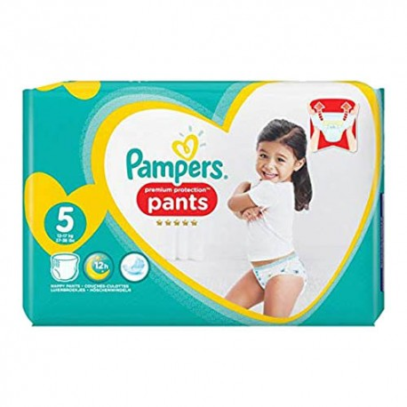 Pack 40 Couches Pampers Premium Protection Pants taille 5 sur Promo Couches