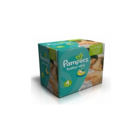 Mega pack 120 Couches Pampers Baby Dry taille 4 sur Promo Couches