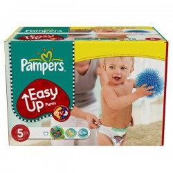 Pack 38 Couches Pampers Easy Up taille 5 sur Promo Couches