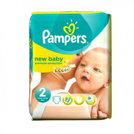 Couches pampers new baby taille 2 pas cher 44 couches sur promo couches - Couches pampers en promo ...