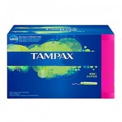 Pack 60 Tampons de Tampax de taille super avec applicateur sur Promo Couches