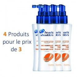 Pack 4 Lotions Tonifiantes d'Head & Shoulders Anti Chute - 4 au prix de 3 sur Promo Couches
