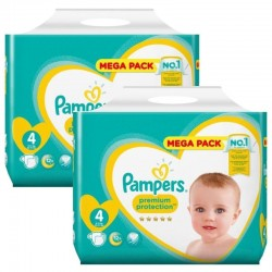 Giga pack 288 Couches Pampers New Baby Premium Protection taille 4 sur Promo Couches