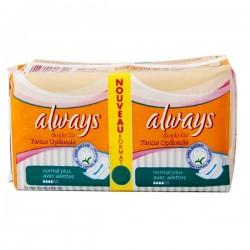 Pack d'une quantité de 36 Serviettes hygiéniques d'Always Simply Fits de taille NormalPlus sur Promo Couches
