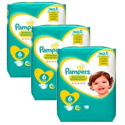 Pack 62 Couches Pampers New Baby Premium Protection taille 6