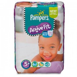 Pack 45 couches Pampers Active Fit