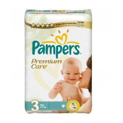 Pack 20 couches Pampers Premium Care