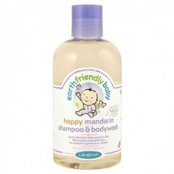 Flacon Gel douche de la marque EFB - Earth Friendly Baby Bio Mandarine sur Promo Couches