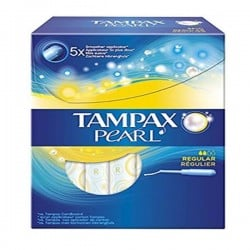 Maxi Pack 60 Tampons Tampax Pearl - 3 Packs de 20 de taille RegularavecApplicateur sur Promo Couches
