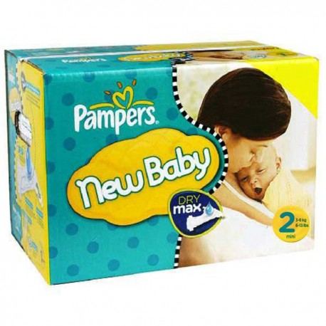 Giga pack 297 Couches Pampers Baby Dry taille 2 sur Promo Couches