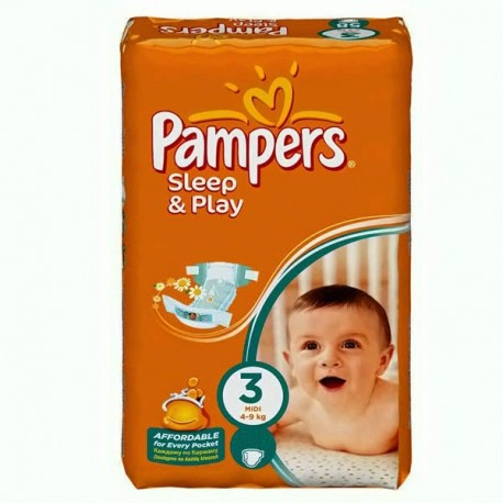 Mega pack 140 Couches Pampers Harmonie taille 4 sur Promo Couches