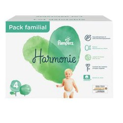 Giga pack 280 Couches Pampers Harmonie taille 4