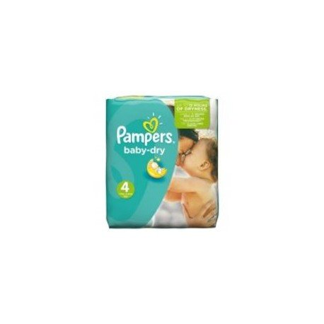 Pack 78 Couches Pampers Baby Dry taille 4 sur Promo Couches