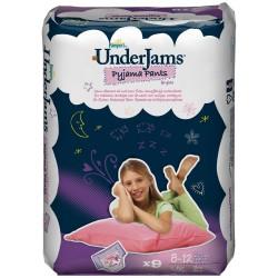 Pack 9 sous vêtement Pampers Underjams pour Filles