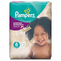 Pack 64 Couches de la marque Pampers Active Fit taille 6