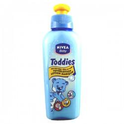 Flacon des Lotions Magiques Nivea baby Toddies sur Promo Couches
