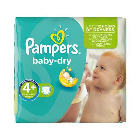 Couches Pampers Baby Dry Taille 4 A Petit Prix 56 Couches Sur