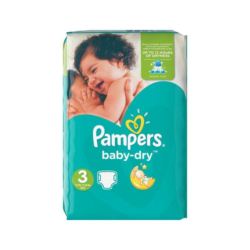 Couches pampers baby dry taille 3 petit prix 70 couches sur promo couches - Couche pampers baby dry taille 3 ...