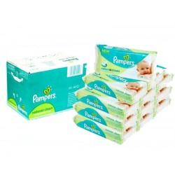 Mega Pack 768 Lingettes Bébés de la marque Pampers Natural Clean
