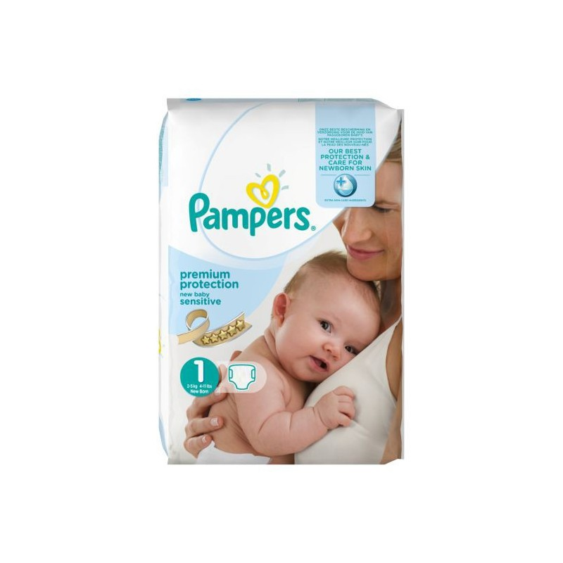 Pack 39 couches de pampers new baby sensitive taille 6 - Prix couches pampers new baby taille 1 ...