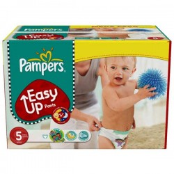 Maxi Pack 152 Couches de la marque Pampers Easy Up taille 5 sur Promo Couches