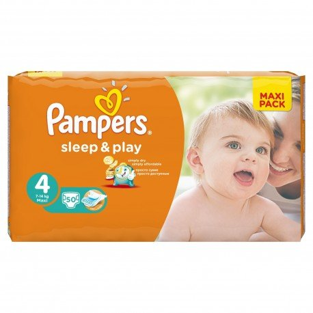 Couches Pampers Sleep Play Taille 4 Pas Cher 50 Couches Sur