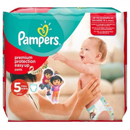 Couches Pampers Easy Up Taille 5 à Bas Prix 14 Couches Sur Promo