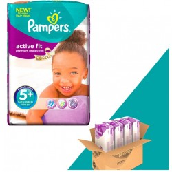 Gros pack 348 Couches Pampers Active Fit taille 5+