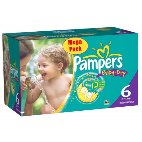 152 couches pampers baby dry taille 6 moins cher sur promo couches - Carrefour promotion couches pampers ...