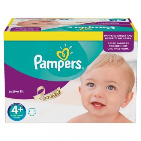 Couches Pampers Active Fit Taille 4 A Bas Prix 21 Couches Sur