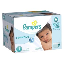 Giga Pack 315 Couches Pampers New Baby Sensitive taille 1