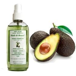 Huile de beauté Avocat 100% Naturelle pure et végétale sur Promo Couches