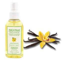 Huile de beauté à la vanille 100% pure et végétale sur Promo Couches