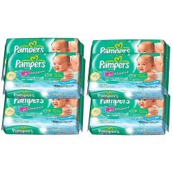 Maxi Mega pack 189 Lingettes Bébés Pampers Fresh Clean sur Promo Couches