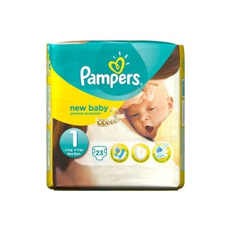 23 couches pampers new baby taille 1 moins cher sur promo couches - Couches pampers en promo ...