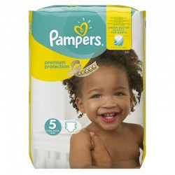 Pack 68 Couches Pampers Premium Protection - New Baby taille 5