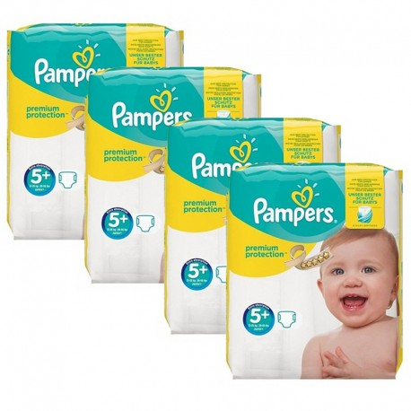 Mega Pack 160 Couches Pampers New Baby Premium Protection taille 5+ sur Promo Couches