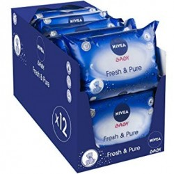Giga Pack 756 Lingettes Bébés Nivea - Fresh
