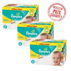 Giga Pack Jumeaux 720 Couches Pampers New Baby - Premium Protection taille 2
