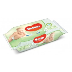 Pack 56 Lingettes Bébés Huggies Natural Care