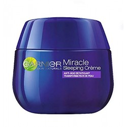 Garnier SkinActive Miracle Anti Fatigue Sleeping Crème Nuit 50 ml sur Promo Couches