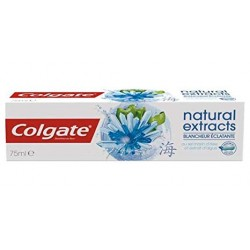 Dentifrice Colgate Natural Extracts Blancheur Eclatante sur Promo Couches